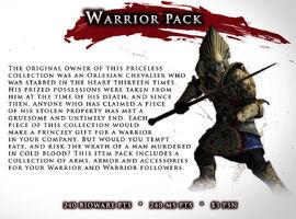 Item pack-01-warrior