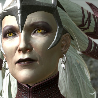 Flemeth in <i>Dragon Age II</i>