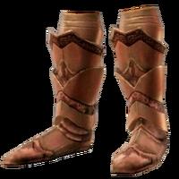 Тяжелые латные ботинки