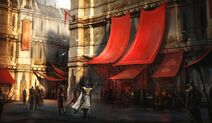 Górne Miasto - grafika koncepcyjna 2