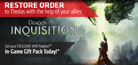 AMD Radeon™ In-Game Gift Pack