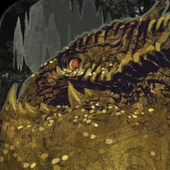 Drachen-Tarotkarte