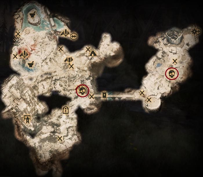 Scherben in Emprise - Karte