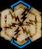 Lightning rune schematic icon