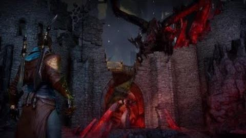 Dragon Age Inquisition - Corypheus & Red Lyrium Dragon Final Boss Fight -8 (Nightmare Difficulty)