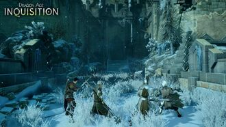 Dragon age inqisition snowy fort