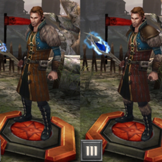 Epicka karta Andersa w <i>Heroes of Dragon Age</i>