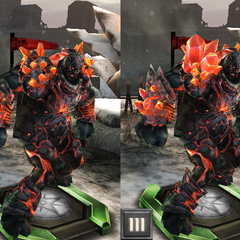Tier progression of Ruby Shale in <i>Heroes of Dragon Age</i>