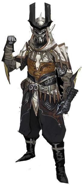 Тевинтерские маг и меч