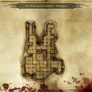 Karte des Anwesens - Kerker