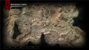 Каленхадский плацдарм. Карта