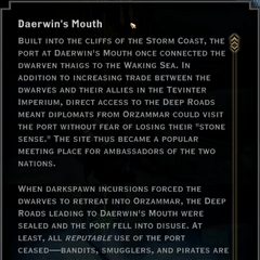 Daerwin's Mouth Landmark