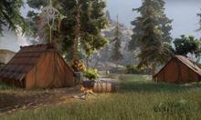 Das Lager am oberen See