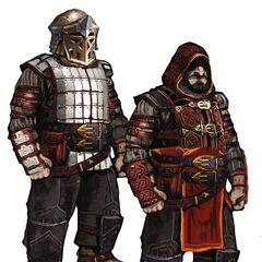Zwei Zwergenmänner