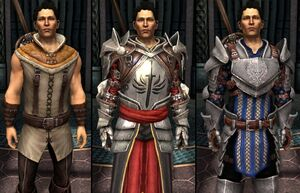 DA2 Carver Companion Armor Comparison