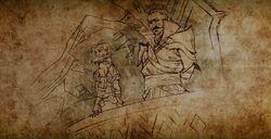 Dorian und Maevaris im Eindringling Epilog