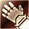 Heavy gloves red DA2