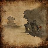 Sand und Verfall - Karte des Grabs von Fairel
