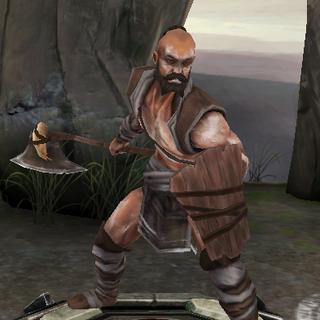 A Chasind warrior in <i><a href=