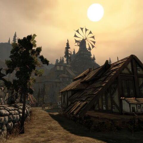 Fragment wioski