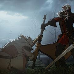 A female Qunari Inquisitor