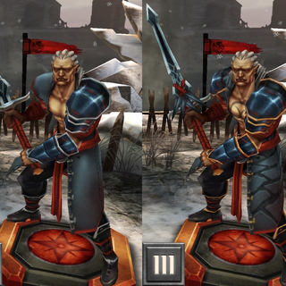 Tier progression of Sten of the Beresaad in <i><a href=