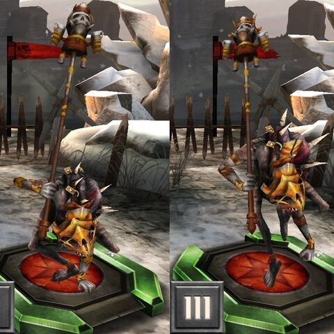 Tier Progression for the Velghast Chieftain in <i><a href=