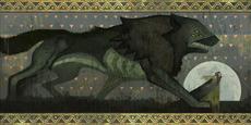 Trespasser Dread Wolf Mural