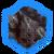 Тронутая Тенью черненая парча (иконка)