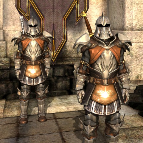 Two Guardsmen in armor