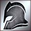 Heavy helmet silver DA2