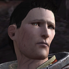 Wesley infected by the Darkspawn Taint