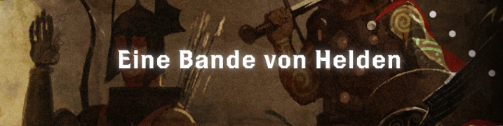 Eine Bande von Helden - Font