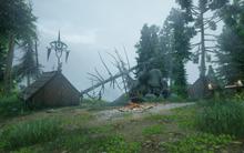 Inquisitionslager Einsamkeit des Sturms