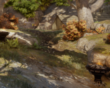 Templer im Westen - Das Lager der Templer