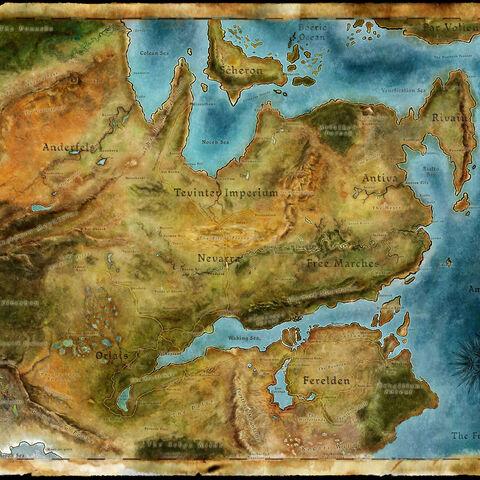 Höher aufgelöste Karte von Thedas