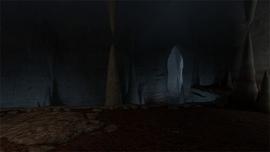Пещеры в Расколотой горе