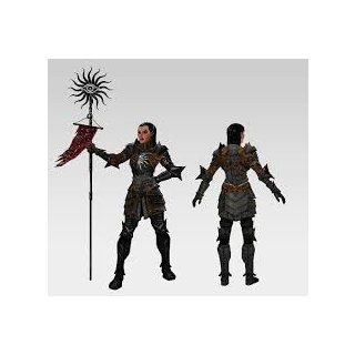 Konzeptzeichnung von Cassandra für Dragon Age II