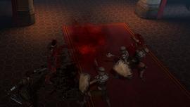 Демонстрация умения Раб крови DAII