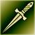 Кинжал (зеленый)