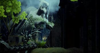На подходах к старому храму