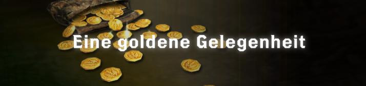 Eine goldene Gelegenheit - Font