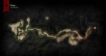 Карта глубокой тени
