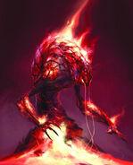 Концепт-арт демона гнева
