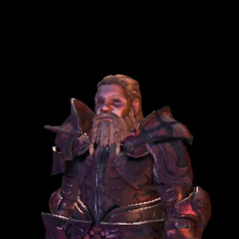 A Dwarf in Wade's Dragonbone Plate armor set