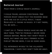 Battered Journal (Inquisition)
