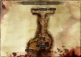 Knotwood Hills Map