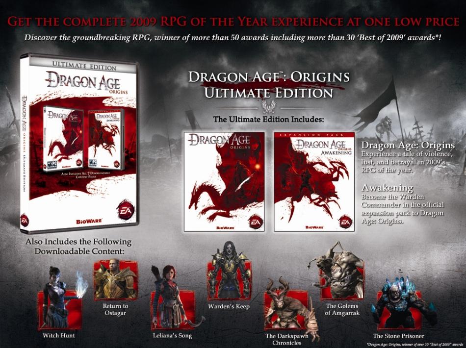Dragon Age: Origins Ultimate Edition | Dragon Age Wiki