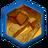 Тронутое тенью вулканическое золото (иконка)