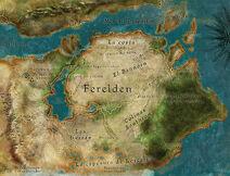 Ferelden Mapa
